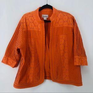 TanJay Orange Jacket